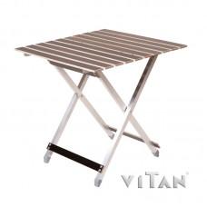 """Большой раскладной алюминиевый стол """"ALUWOOD"""""""