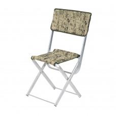 """Алюмінієвий стілець """"Рибак зі спинкою"""""""