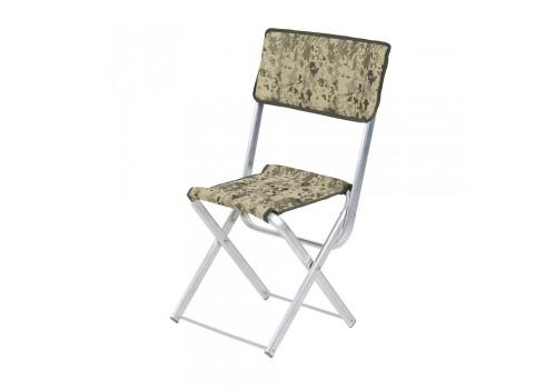 """Алюминиевый стул """"Рыбак со спинкой"""""""