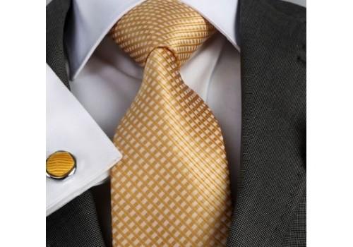 Золота краватка в подарунковому наборі