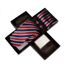 Строката краватка в подарунковому наборі