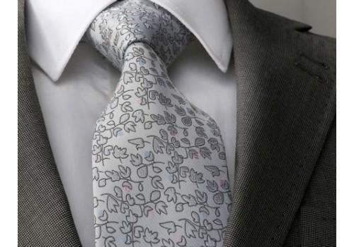 Гарна світла краватка в наборі