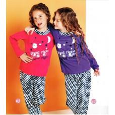 Піжама для дівчинки «Строката»