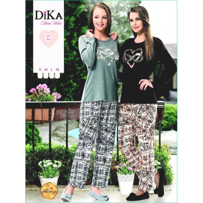 Купити трикотажну жіночу піжаму «Нескінченна любов». StyleRoyal. 45a65f38a3599