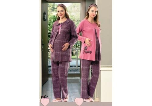 Пижама для беременных в комплекте