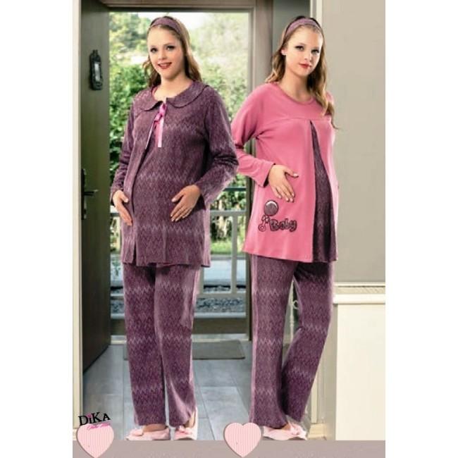 Купити піжаму для вагітних в комплекті. StyleRoyal. 6d41fea0eb0f8