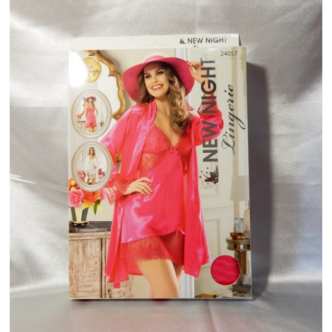 Купити яскравий пеньюар в комплекті NEW NIGHT Lingerie від DiKa ... 8a6cfddbc2dc4