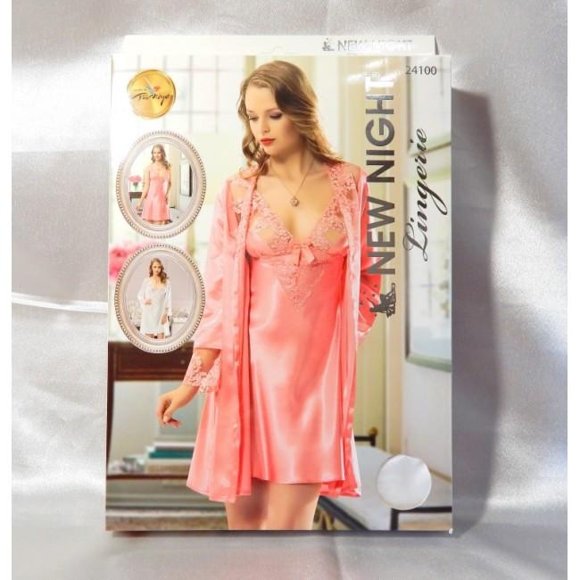 Купити спокусливий пеньюар в комплекті NEW NIGHT Lingerie від DiKa ... 89712825a827c