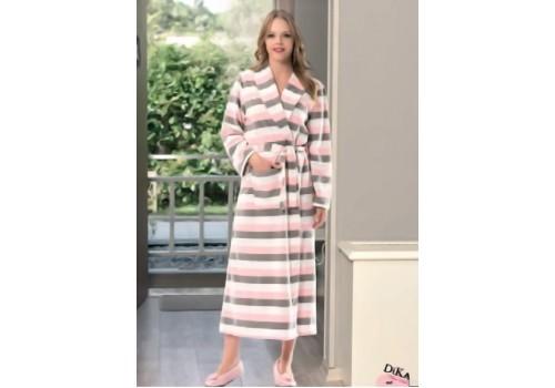 Довгий жіночий халат