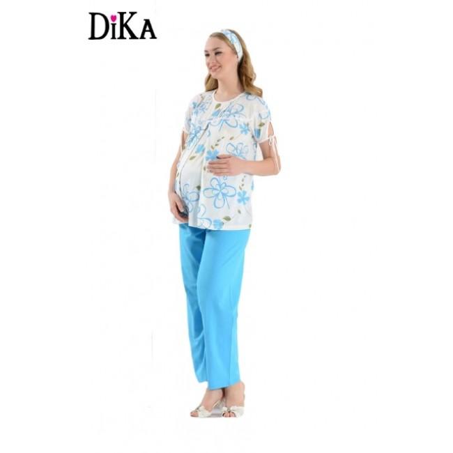 Купити річну піжаму для вагітних DiKa. StyleRoyal. 2113f3dbe5af6