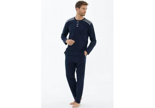 Мужская пижама синяя Sementa