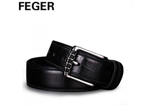 Стильний фірмовий ремінь під джинси від FEGER