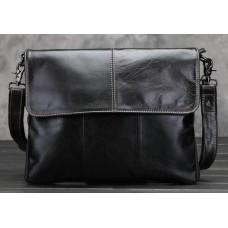 Стильная кожаная сумка винтажного стиля