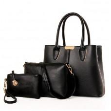 Стильний набір жіночих сумок 3 в 1