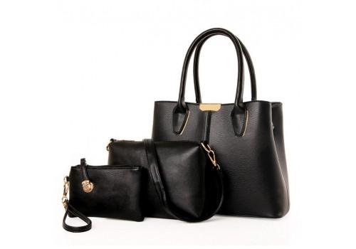 Стильный набор женских сумок 3 в 1