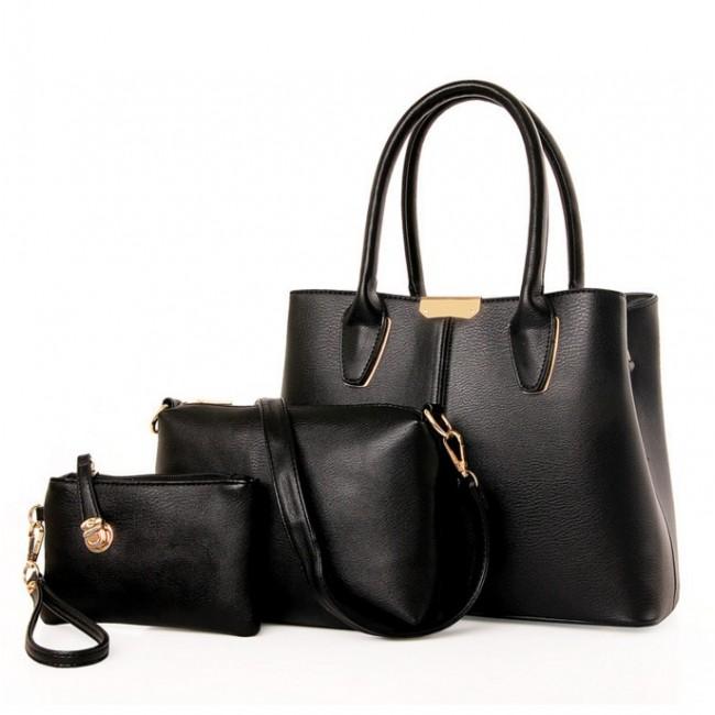 f1f129994e75 Купити стильний набір жіночих сумок 3 в 1. StyleRoyal.