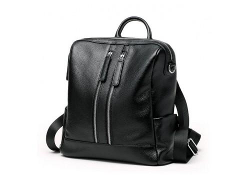 Жіночий шкіряний рюкзак