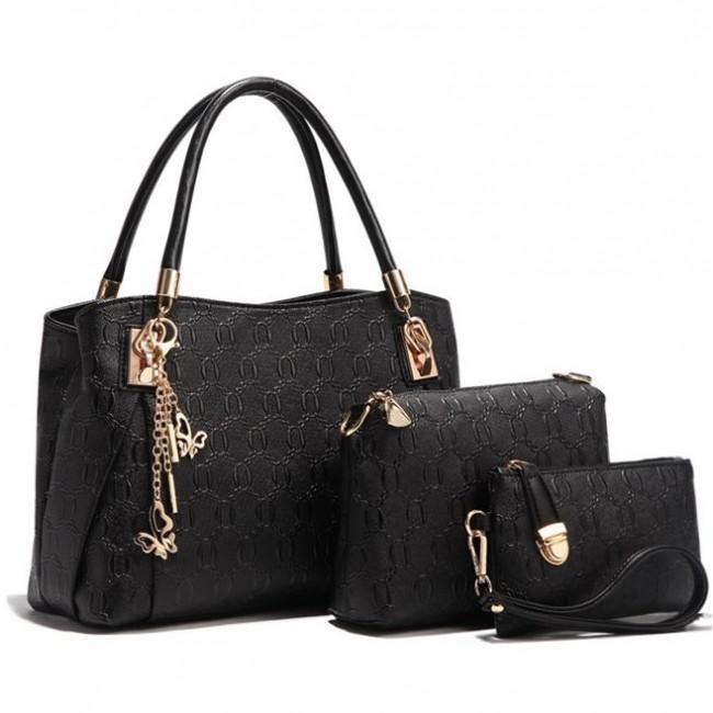 52b0fe3b8e01 Купить женскую сумку в наборе 4 в 1. StyleRoyal
