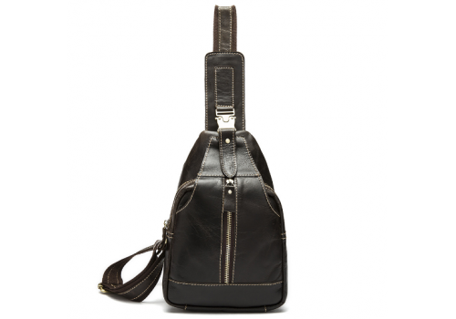 Кожаный слинго-рюкзак NULL