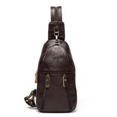 Слинго-рюкзак Null из натуральной кожи