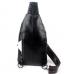 Кожаный слинго-рюкзак с крокодилом