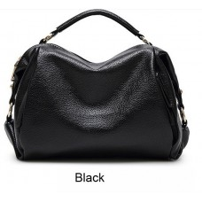Женская мягкая сумка среднего размера