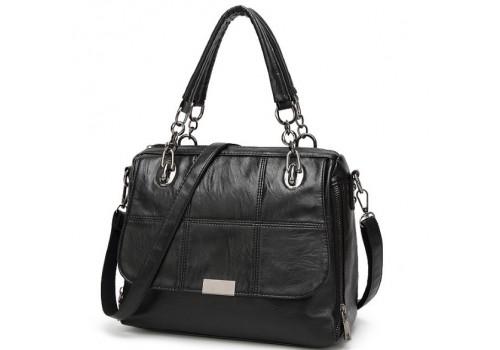 Женская мягкая сумка на каждый день