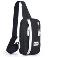 Компактный городской слинго-рюкзак