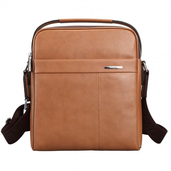 Купити чоловічу шкіряну сумку світлого кольору. StyleRoyal. 5b2be696b5923