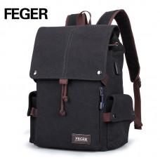 Вместительный студенческий рюкзак FEGER