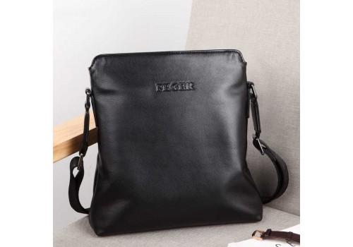 Мягкая кожаная мужская сумка FEGER