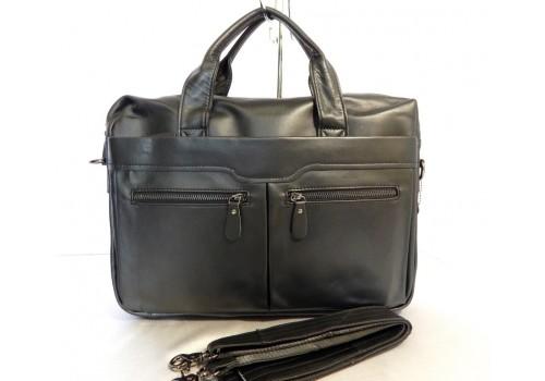 Кожаная мужская сумка на каждый день