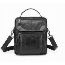 Отличная кожаная мужская сумка