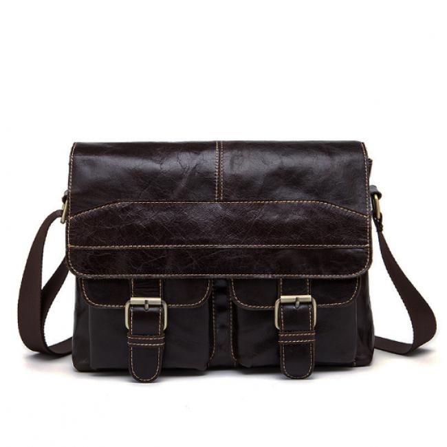 Купити шкіряну чоловічу сумку горизонтальну. StyleRoyal. fc3e72639f5e3