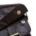 Кожаная мужская сумка горизонтальная