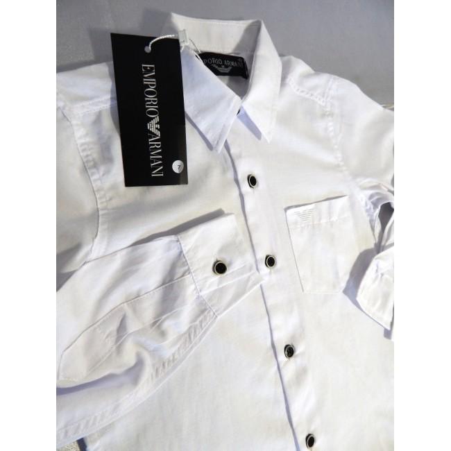 0f03118ffe80220 Купити дитячий білу сорочку. StyleRoyal.