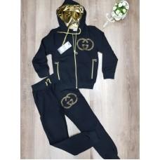 Спортивний брендовий костюм для дівчинки